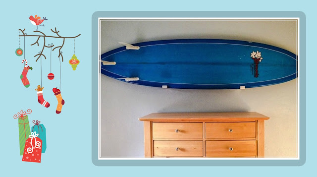 surf wall storage rack