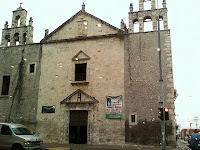 Iglesia Mejorada Merida Yucatan Mexico
