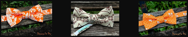 Shop Because I'm Me's gorgeous summery bow ties for men and boys