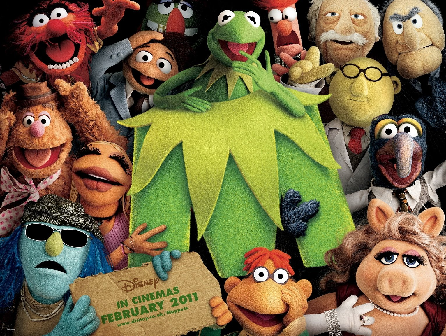 muppets trailer the muppets movie poster