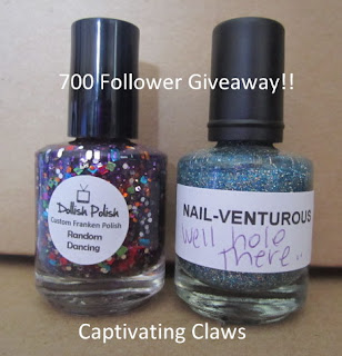 Captivating Claws giveaway