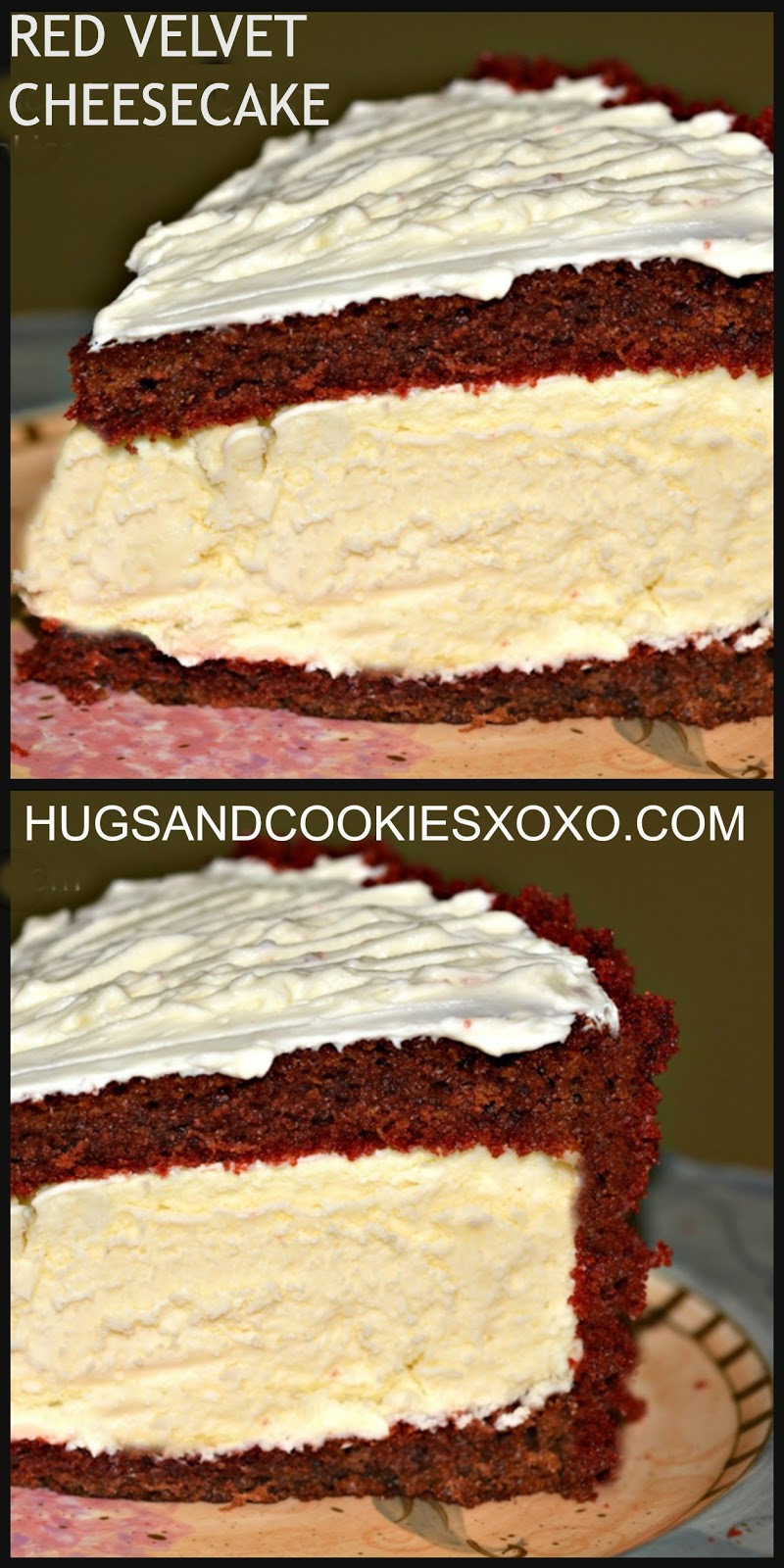 RED VELVET CHEESECAKE!!!! - Hugs and Cookies XOXO