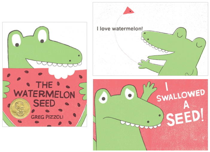 the watermelon seed board book