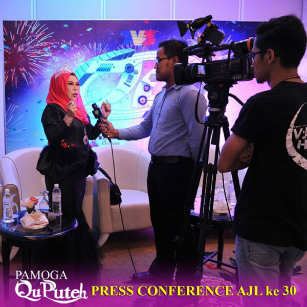 PANAS! Dato Vida CABAR Produksi TV3 Hasilkan AJL30 Lebih Meriah