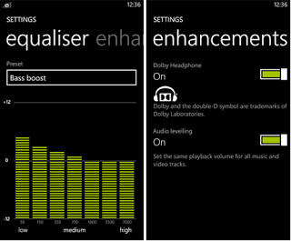 Lumia Phone Window 8.1 Audio Updated to Version 2.1.4.1 With Equalizer
