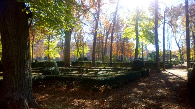otoño palacio aranjuez