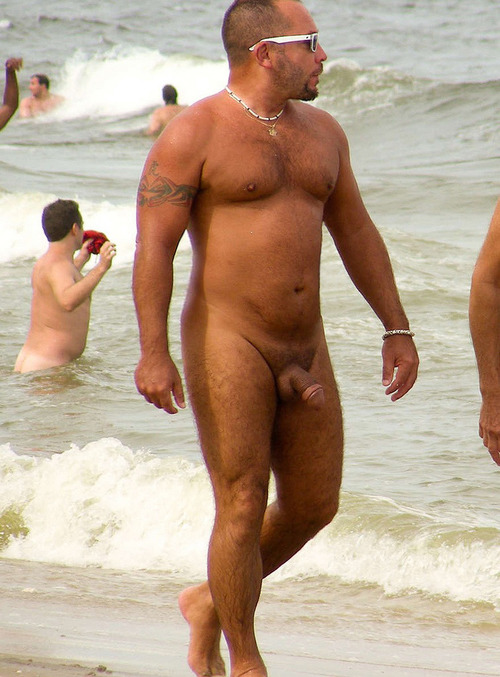 Naked Men On Beaches