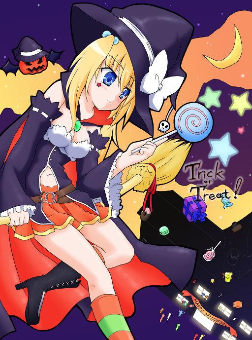 【Helloween】ハロウィン娘2012【希望の雨】 por 岩崎さくら☆しゅりちゃんは嫁