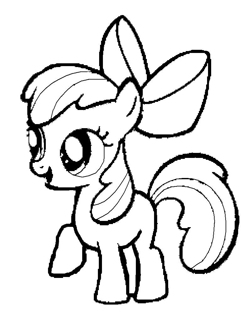 my little pony spike coloring pages - my little pony