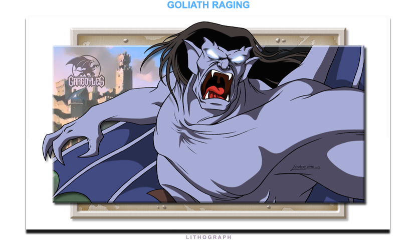 Goliath Raging