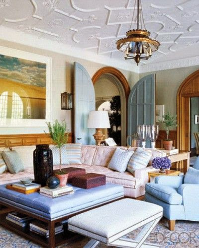 eclectic elle decor living room
