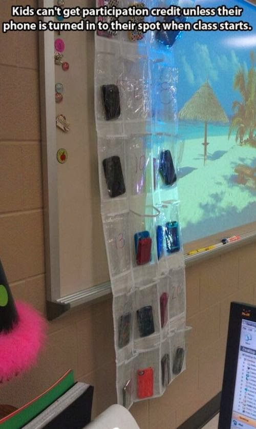 appropriate cellphone use in the classroom, managing cellphone use in the classroom, device use in the classroom