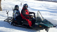 Snowmobile Auger Rack4