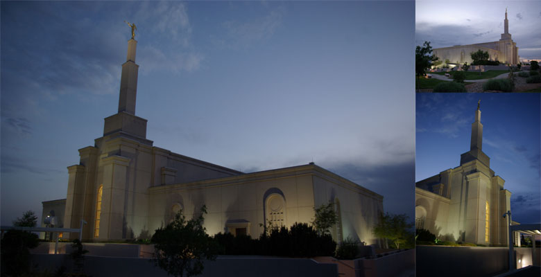 Albuqueque New Mexico Temple, June 28, 2011 PM