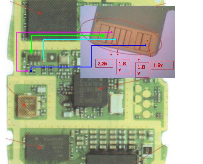 nokia 1100 display solution,ways