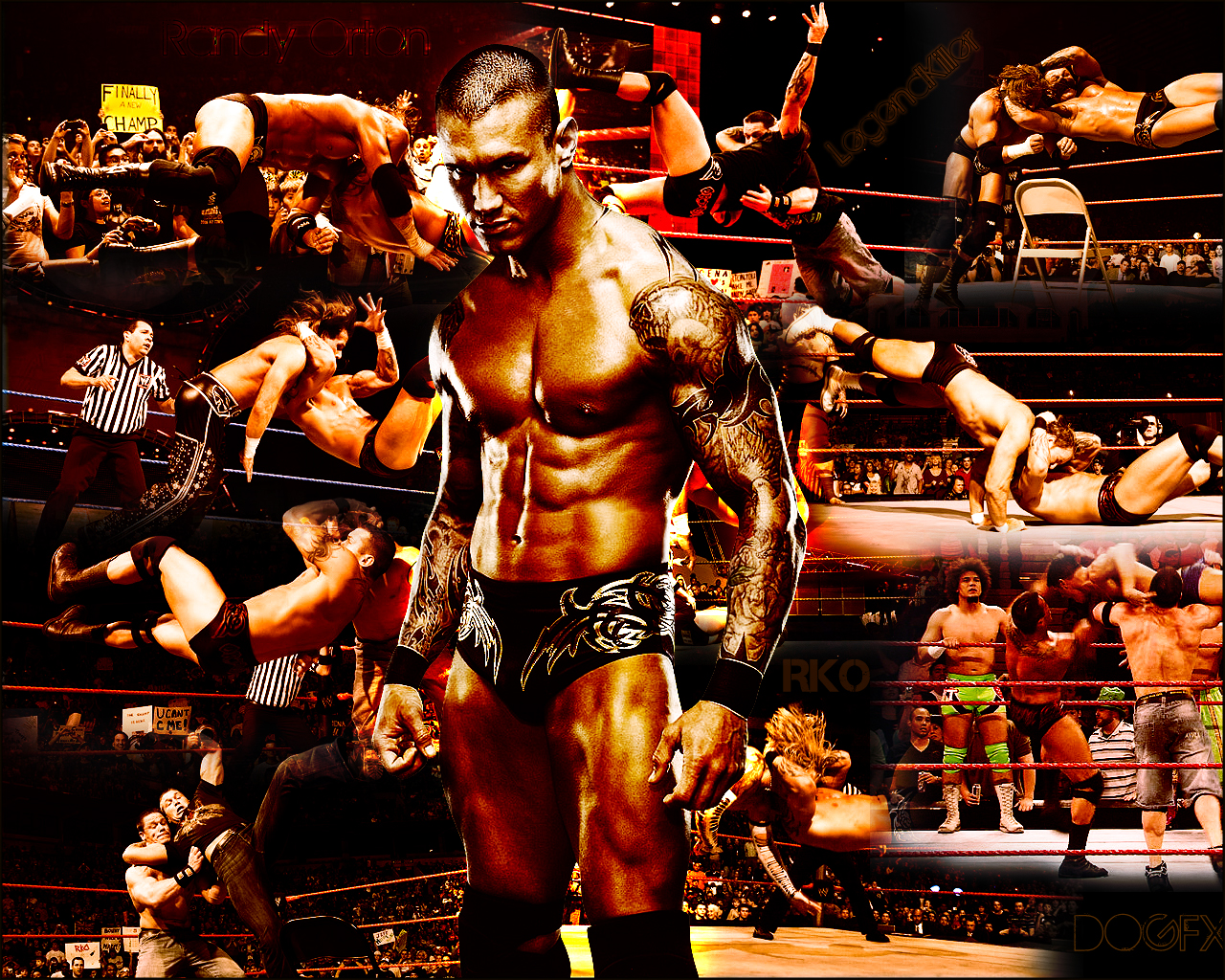 Wallpaper Pictures WWE Randy Orton