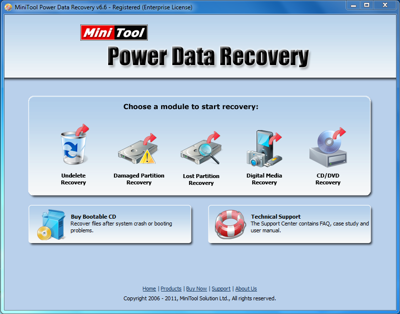 MINI TOOL POWER DATA RECOVERY 6.6 + SERIAL