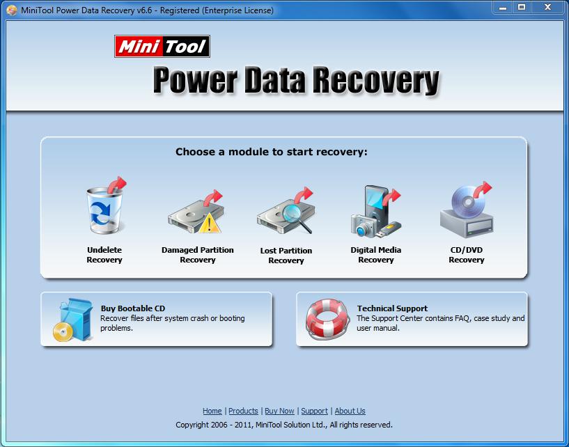 MINI TOOL POWER DATA RECOVERY 6.6 + SERIAL