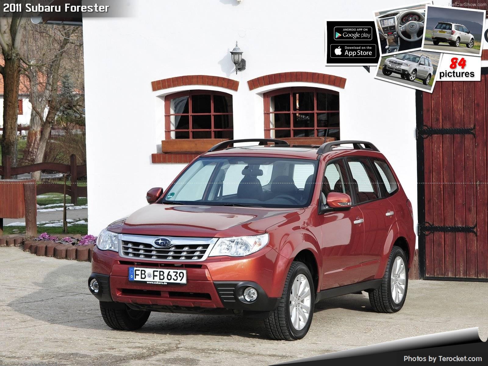 Hình ảnh xe ô tô Subaru Forester 2011 & nội ngoại thất Photos