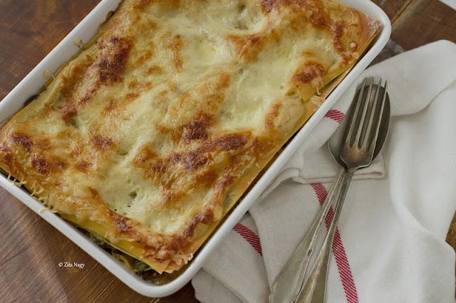 Kale And Mushroom Lasagne : Zizi's Adventures – Real Food, Real ...