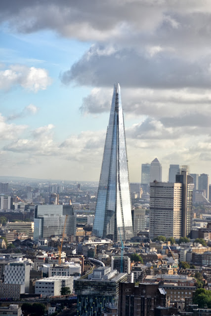The Shard is taller than the London Eye