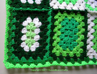 granny rectangle edging #1