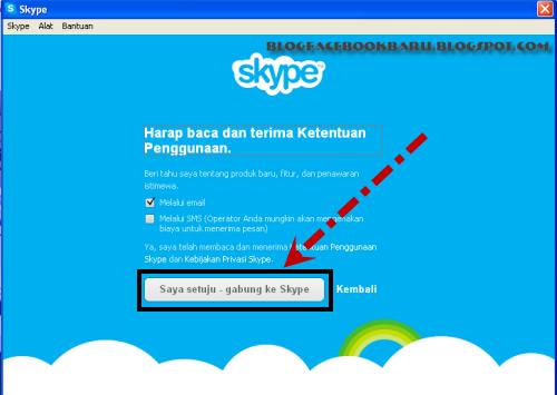 cara memakai skype dengan mudah