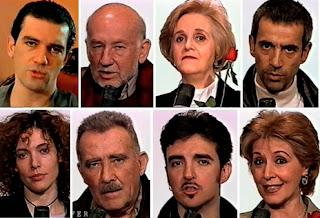 Antonio Banderas, Adolfo Marsillach, Chus Lampreave, Imanol Arias, Maru Valvivielso, Fernando Guillén, Ramoncín, Concha Velasco