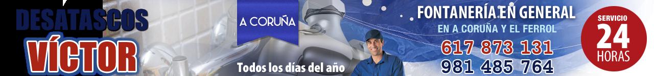 Desatascos en A Coruña · 617 873 131 (Económicos)