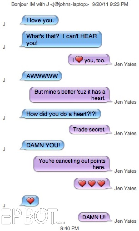 Cute text messages from boyfriend