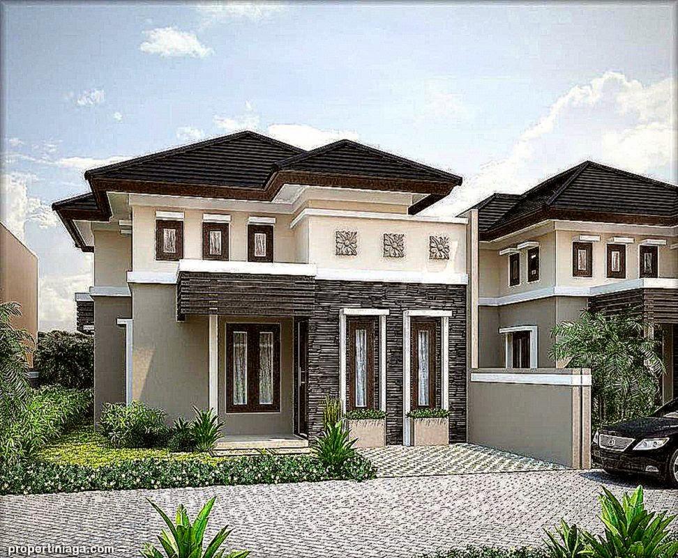 Contoh Desain Rumah Minimalis Modern  Propertiniaga