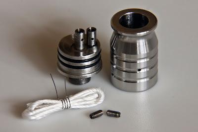 rebuildable atomizers, atomizer, vape, vapor cigarette, atty, rebuildable tank atomizers