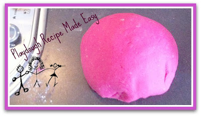 playdough, playdough recipe