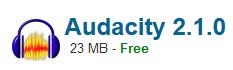 Audacity 2.1.0 Free Download Latest Version