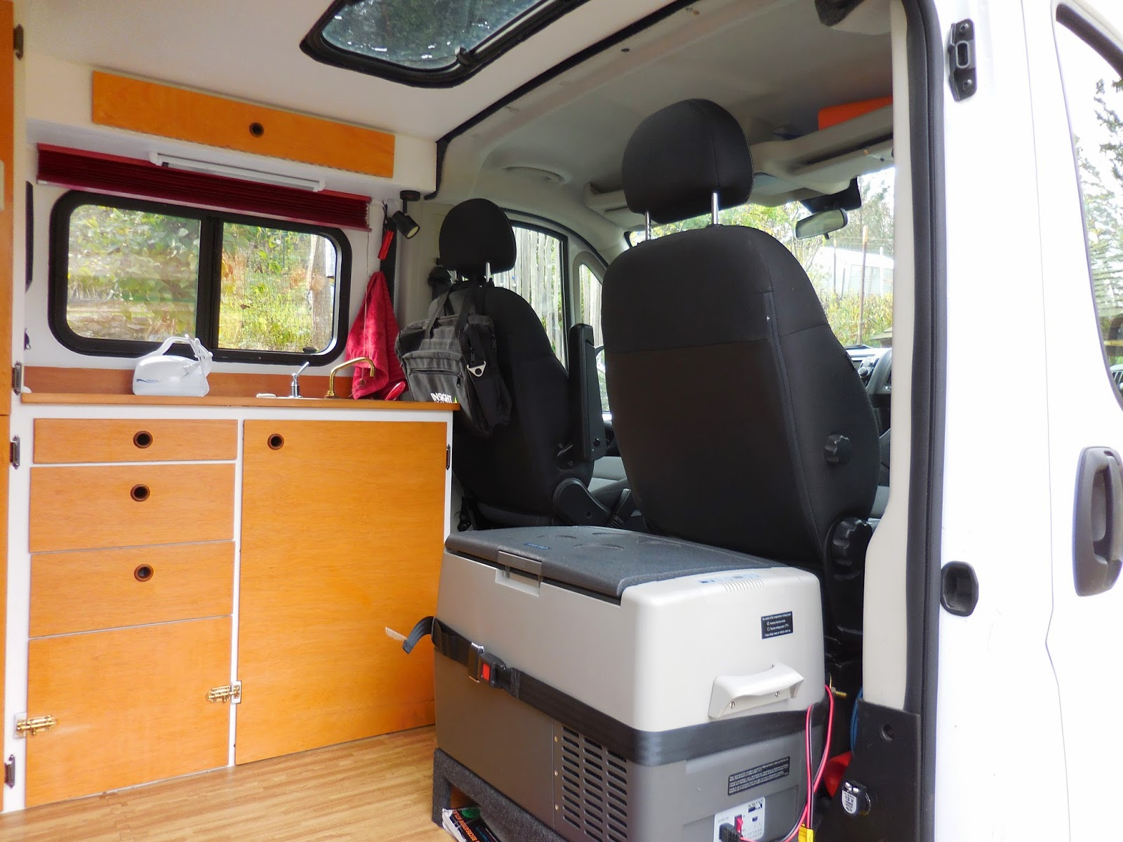 Promaster To Buster The Camper Van