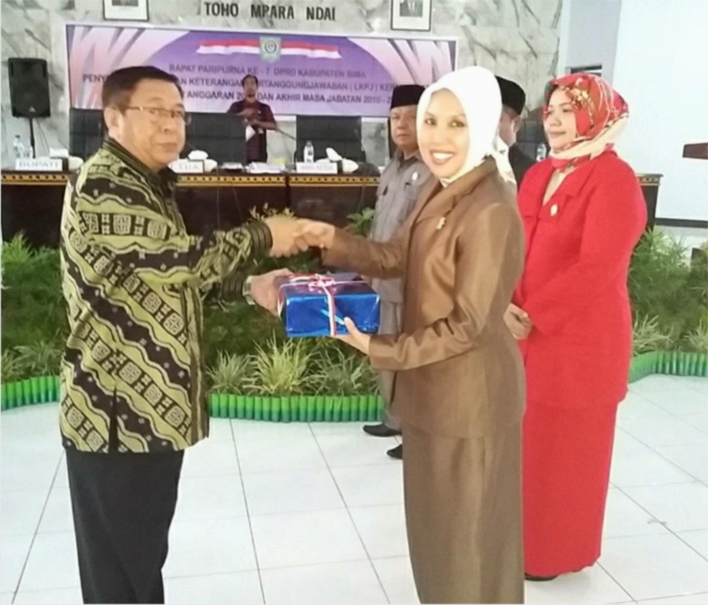 Bupati Syafru Sampaikan LKPJ Akhir  Tahun Anggaran dan Akhir Masa Jabatan