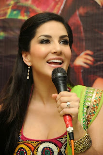 Actress Sunny Leone Latest Pictures at Jackpot Movie Promotion 0049