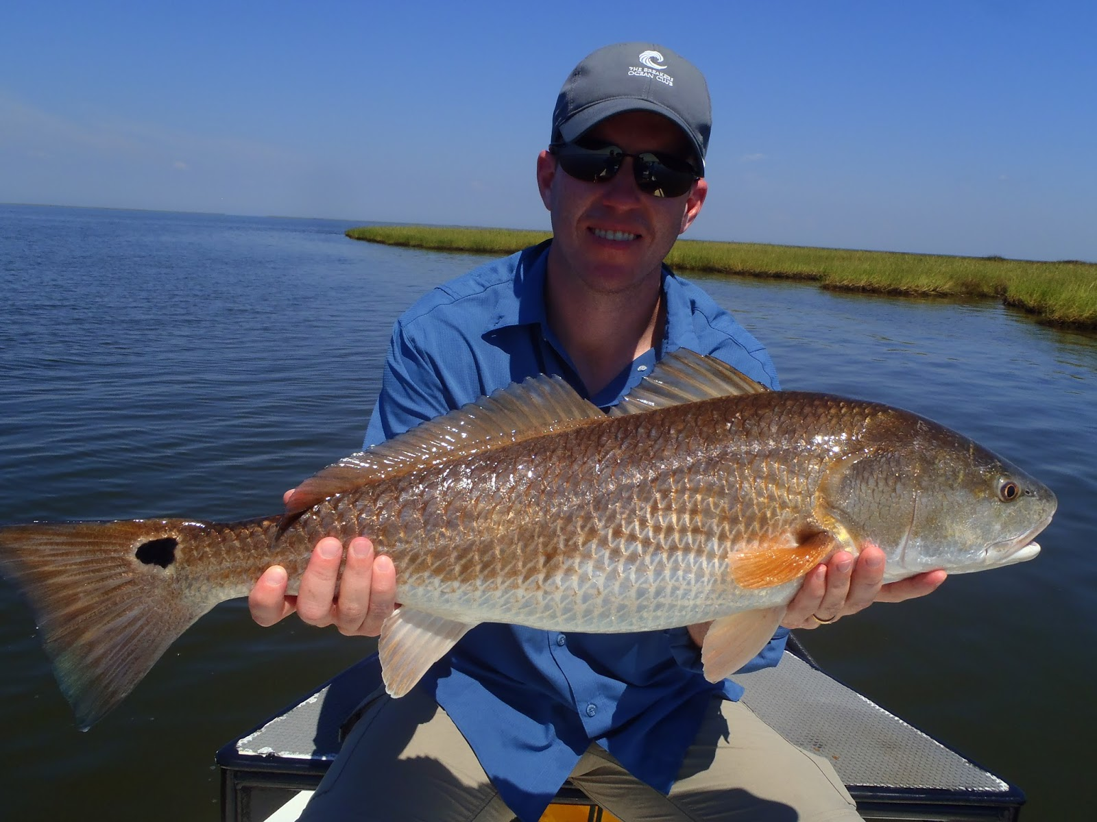 Redfishing louisiana a guides journey september 2015 for Louisiana redfish fly fishing
