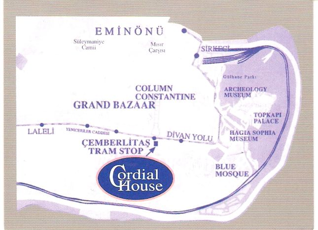 Cordial House - Hotel & Hostel Map
