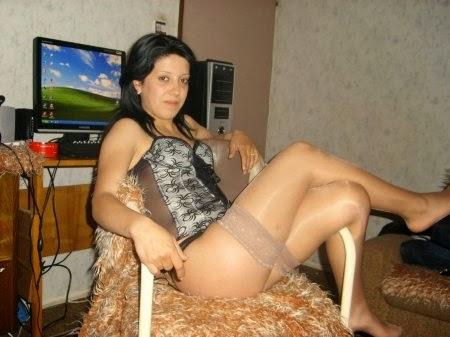 Фото жены частное в чулках