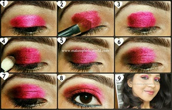 Click for Fall Look: Hot Pink Eyes