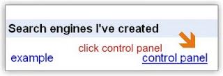 Setting Google Custom Ke 2