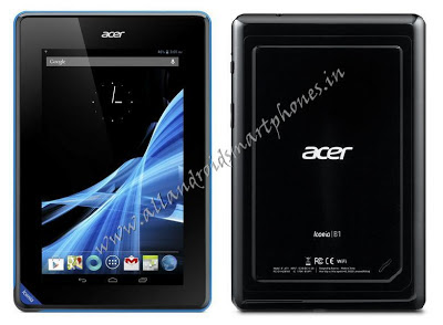 Acer Iconia Tab B1- A71 Android 7 inch Tablet Front & Back Photos.