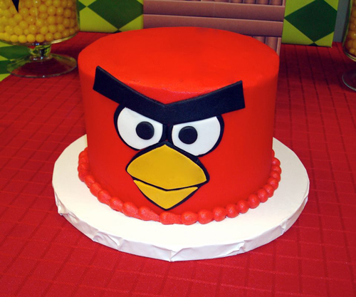 Pictures Of Angry Birds Birthday Cakes : Many Means: ANGRY BIRDS BIRTHDAY CAKES : Do you wanna your ...