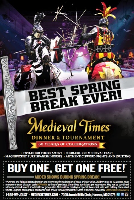 Medieval Times Ticket Discounts