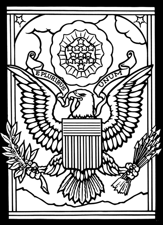 American flag emblem title=