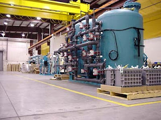 Re-Kem General Water's finall assembly area in our New Britain, CT facility