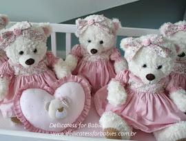 Ursas e ursos para decoração