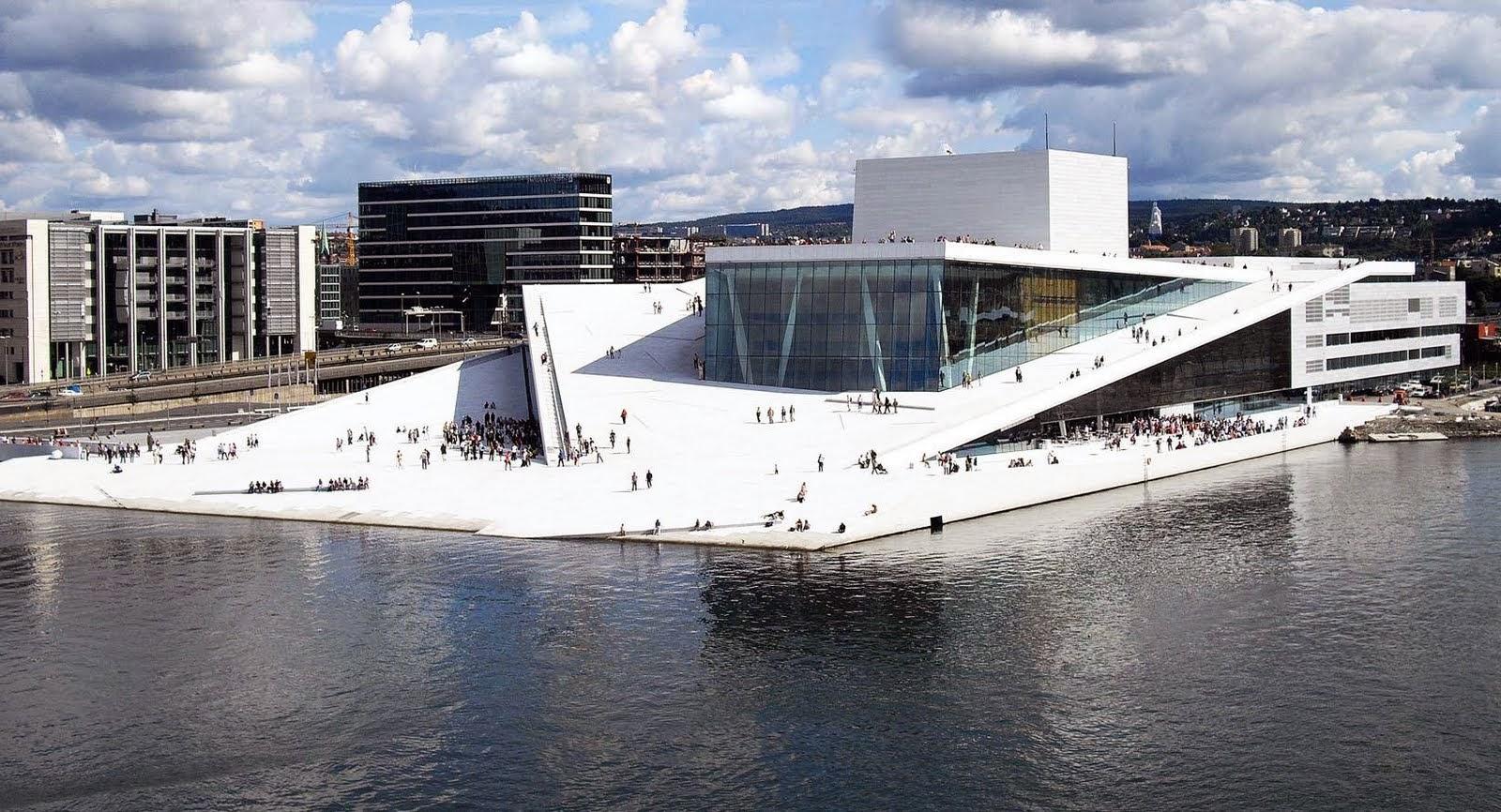 مخططات مشروع دار أوبرا أوسلو بالنرويج  OsloOperaHouseNorway-ErikBerg