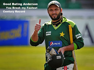 Corey Anderson Break World's Fastest hundred Record of Shahid Afridi